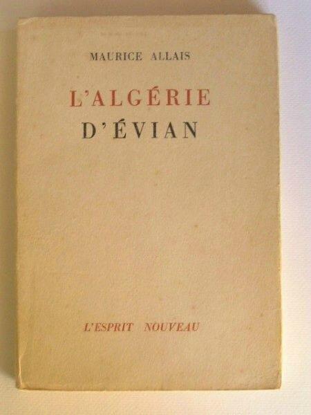 Algérie Evian Allais 1962