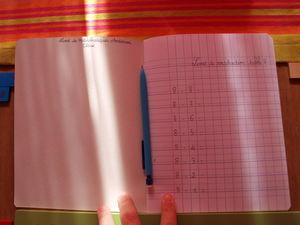 Le tableau de la soustraction bandes montessori l - Les tables de soustraction a imprimer ...