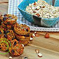 biscuits au muesli et aux fruits secs