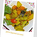 Curry de légumes de lola