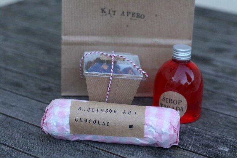 cadeau gourmand kit apero de l'ete