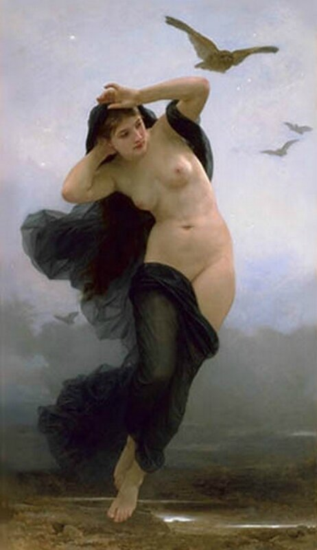 La Nuit - 1883 - William-Adolphe Bouguereau