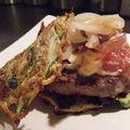 hamburger aux galettes de légumes