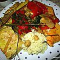 Recette du couscous aux 3 poissons