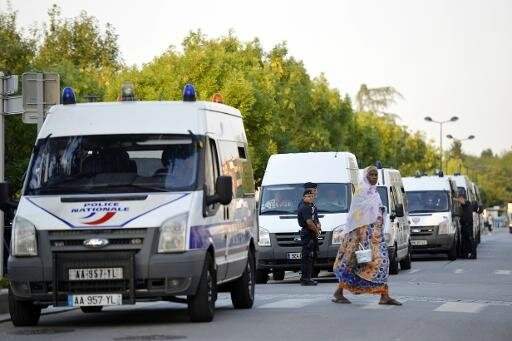 Police CRS Trappes (AFP)
