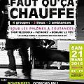 Soirée concerts faut qu'ça chauffe sous les pylônes à coutances samedi 21 mars 2015