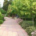 Dans les jardins de l'hôtel