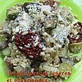Risotto aux tomates séchées (riz vialone nano)