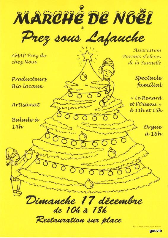 Marché de Noël ....