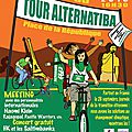 Tour de france alternatiba à avranches ce 17 août 2015 - photos, vidéo, tweets, ...