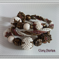 bracelet spirale herringo