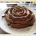 Gâteau yaourt au chocolat riz soufflée