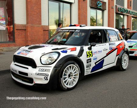 Mini John Cooper Works n°55 (Campana Decastelli)(Rallye de france 2011) 01