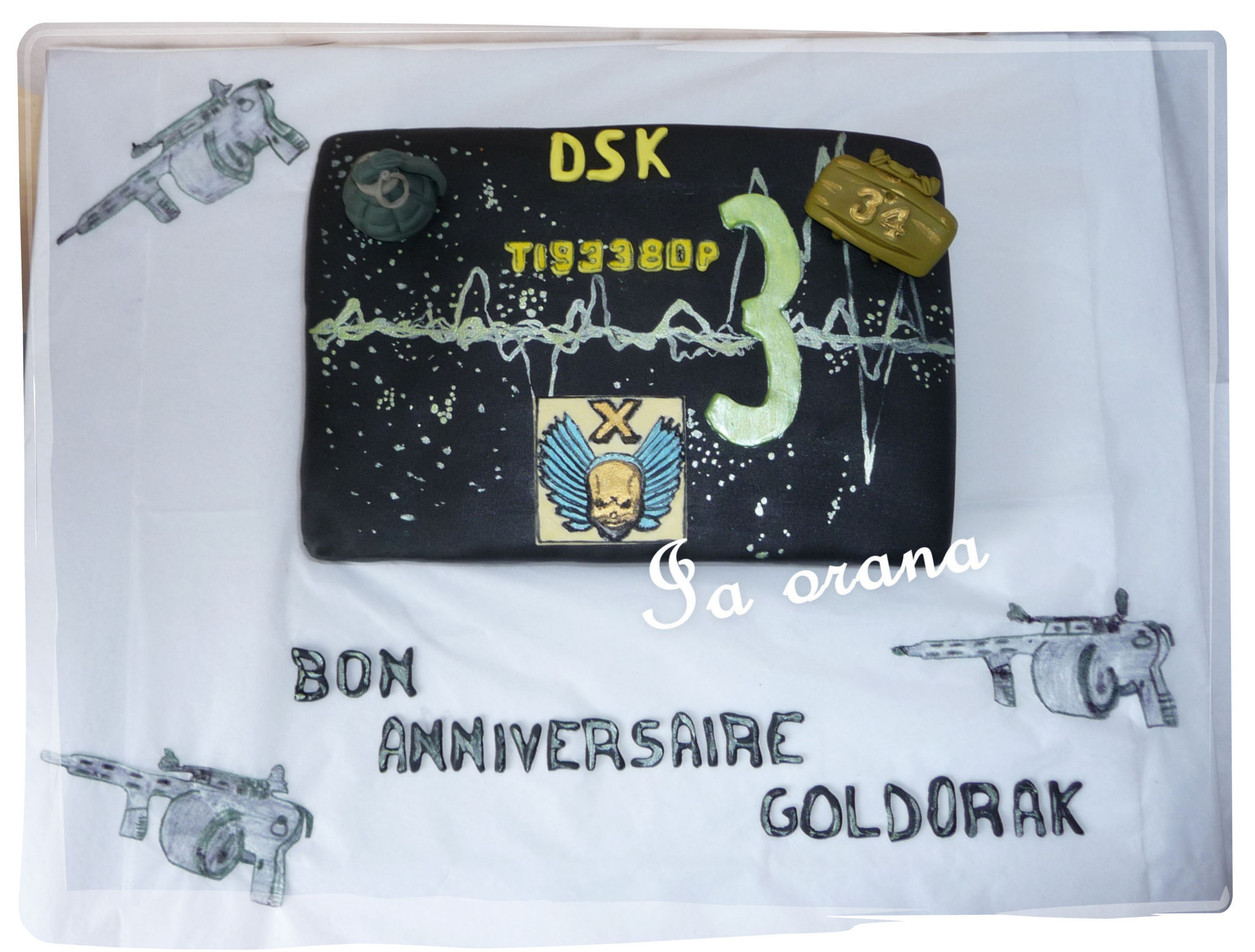 Gâteau Call of Duty/Call of Duty cake