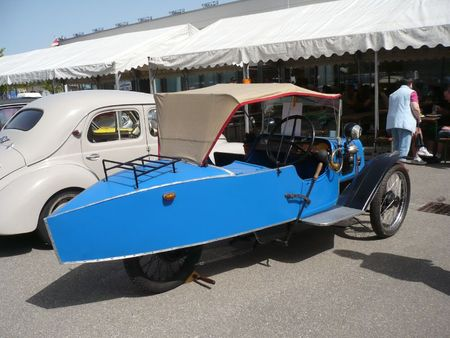 DARMONT Morgan type C Cycle Car Châtenois (2)