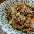 Granola aux légumes