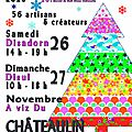 Artisan'art - 26 et 27 novembre - châteaulin (29)