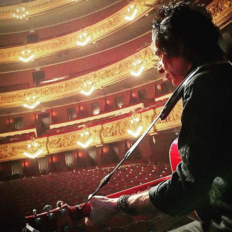 le 08 mars 2016 Rester Vivant Tour au Gran Theatre del Liceu de Barcelone (5)