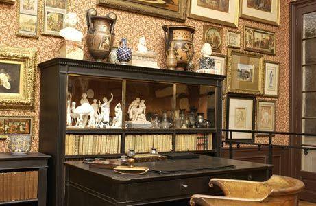 Cabinet reception misée gustave moreau