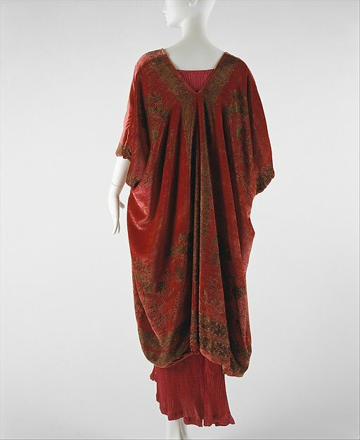 Mariano Fortuny, Evening coat, probably 1920s