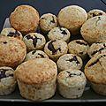 Muffins coco coeur nutella