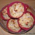 Muffins à la courge musquée et à la noix de coco, sans gluten