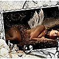ange sur sol