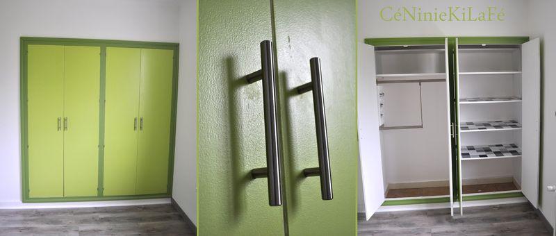 relooking chambre gar on et placard c niniekilaf. Black Bedroom Furniture Sets. Home Design Ideas