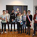 Burnhaupt-le-haut: les nouveaux jeunes citoyens reçus à la mairie