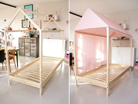 lit cabane ik a tutoriel gratuit diy tutolibre. Black Bedroom Furniture Sets. Home Design Ideas