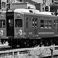 Black & White Railway- 白黒の電車