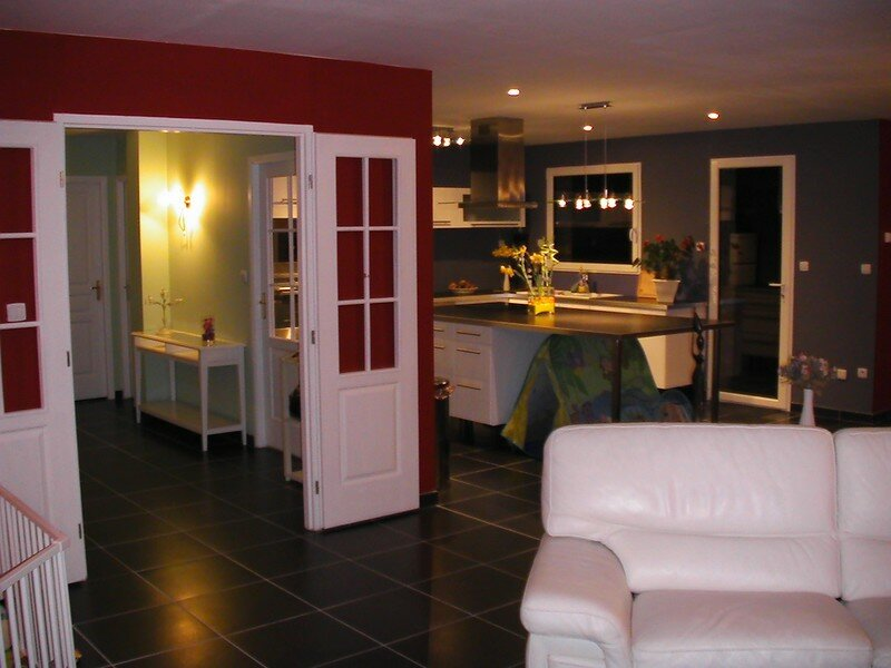 Photos des travaux d 39 am nagement int rieur la for Deco cuisine 7m2