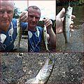 Une partie de pêche réduite en sandres :d
