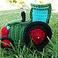 Un tracteur tricoté