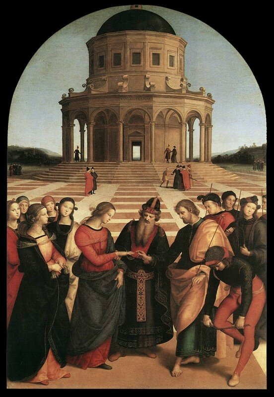 Raphael, le Mariage de la Vierge, 1503