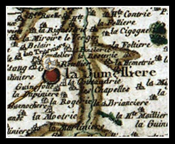 La Jumelière cassini - Vaudeluc - Vaudelier