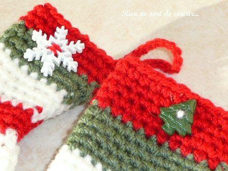 chaussettes crochet