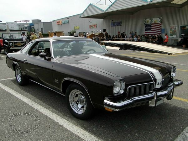 oldsmobile 442 colonnade hardtop coupe 1973 a