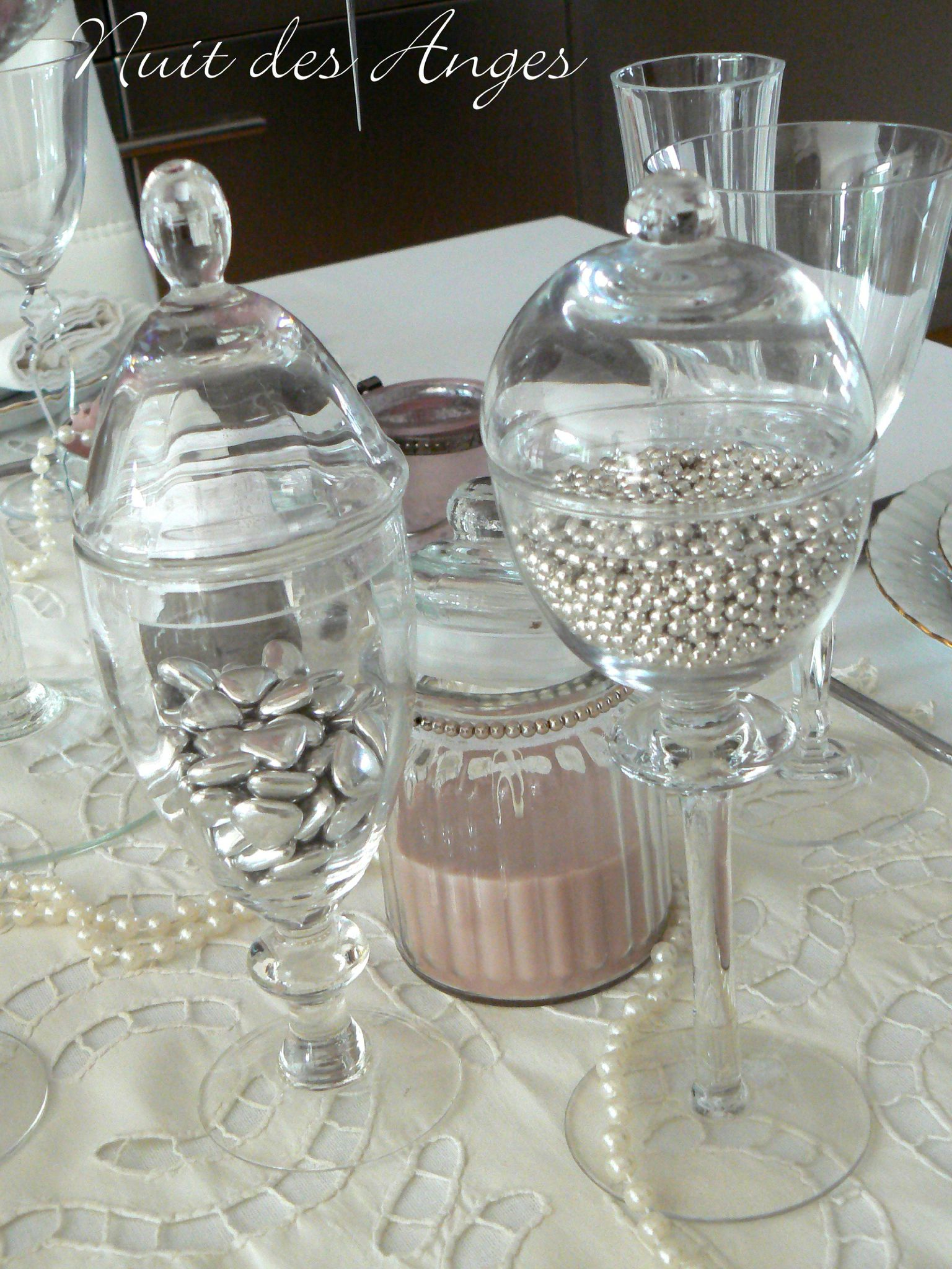 Nuit des anges d coratrice de mariage d coration de table romantique vintage 008 photo de - Photo de table ...