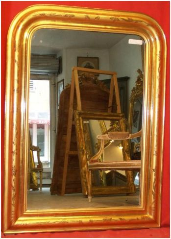 reconnaitre un miroir louis philippe regard d 39 antiquaire. Black Bedroom Furniture Sets. Home Design Ideas