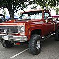 GMC Sierra 2door pick-up Stepside 1975 Illzach (1)