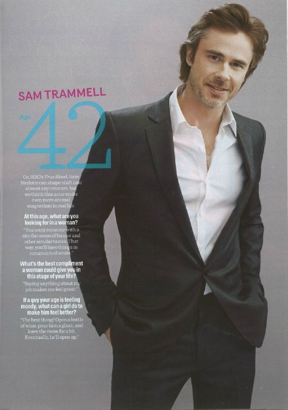 Sam Trammell - Cosmopolitan mag - True Blood France blog ...