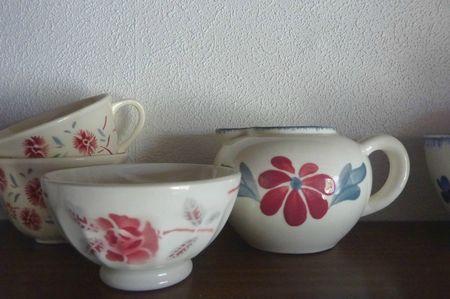 Boutique brocante Paimpol - vaisselle