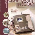 Album & carnet en scrap - Editions FLeurus