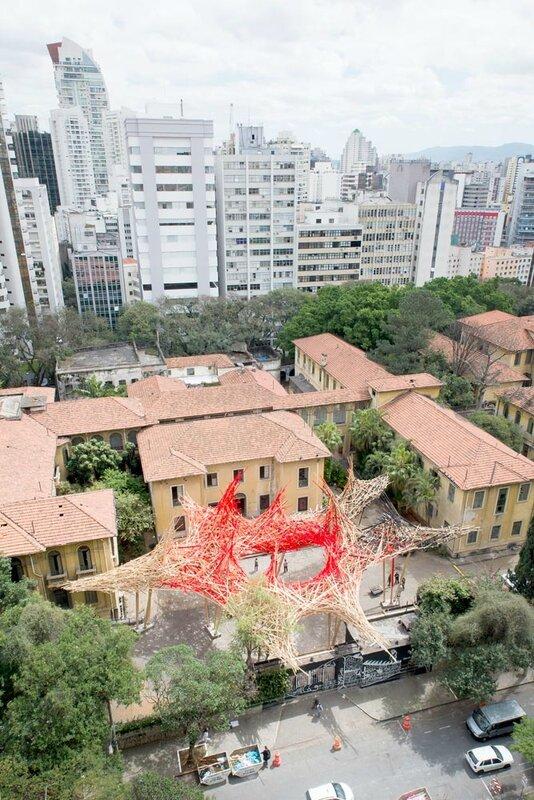 Wooden Installation (Sao Paulo)