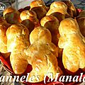 ~~ manneles ou manalas à l'orange ~~
