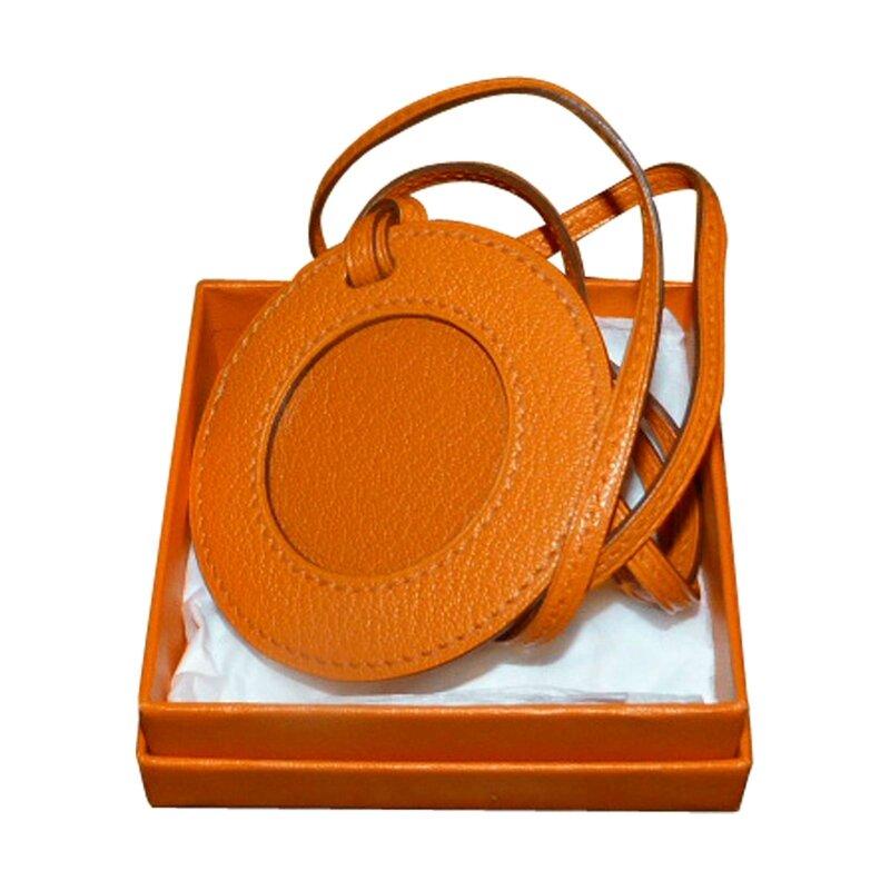 pendentif-hermes-porte-photo-orange-cuir-mixte- 120 ejpg