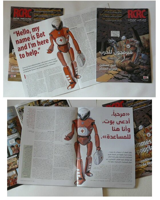 Red-cross-mag-robot