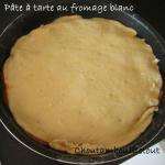pâte à tarte fromage blanc