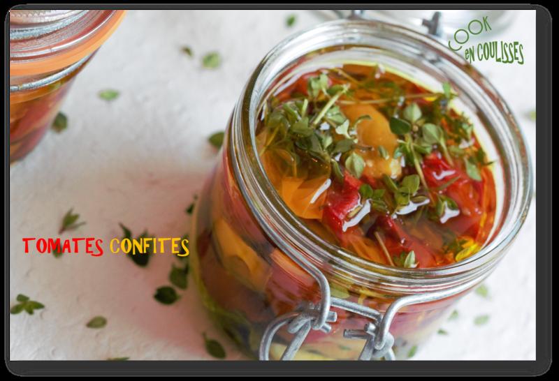 tomates cerise confites